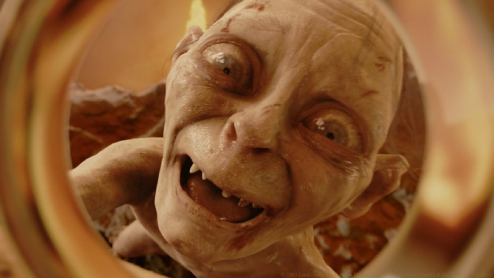 Andy Serkis in The Lord of the Rings, Gollum