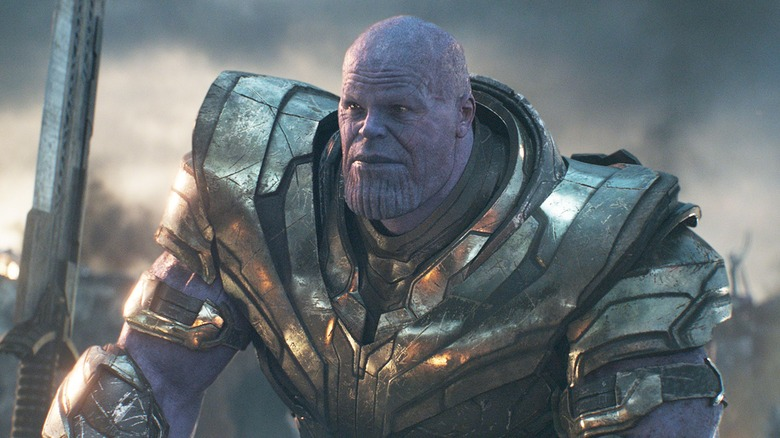 Thanos, Josh Brolin, Avengers: Endgame