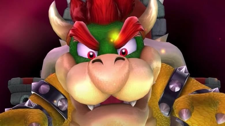 Bowser looking menacing
