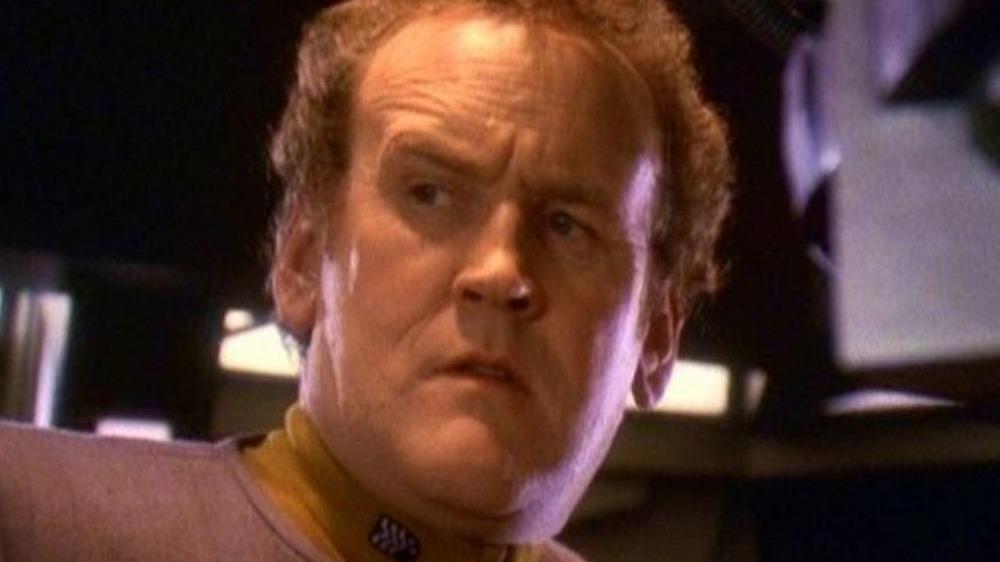 Chief O'Brien concerned