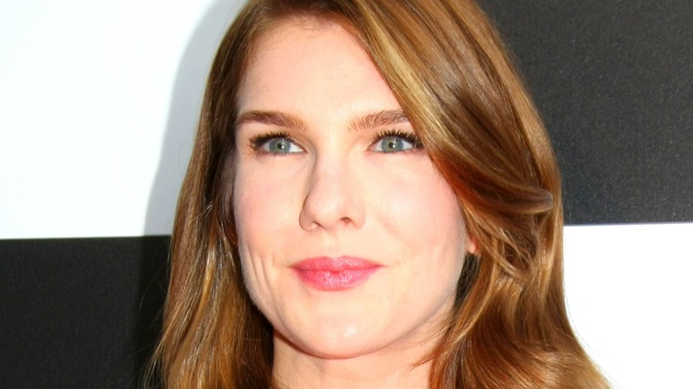 Lily Rabe at an event