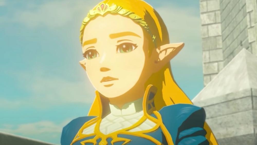Princess Zelda speaking