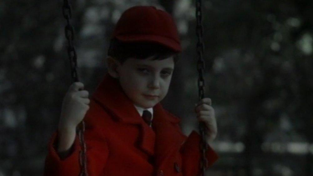 Seamus Davey-Fitzpatrick as Damien Thorn in The Omen