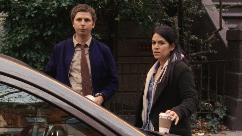 Michael Cera and Abbi Jacobson in Person to Person