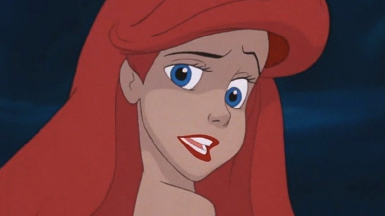 Ariel confused