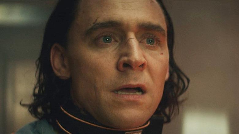 Loki gasping in shock