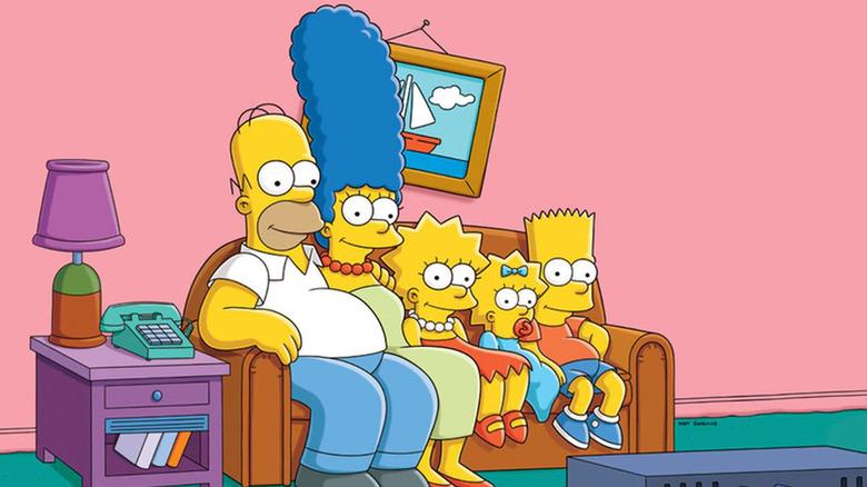 The Simpsons promo art