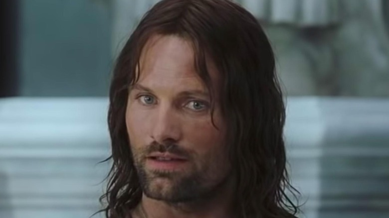 Aragorn speaking
