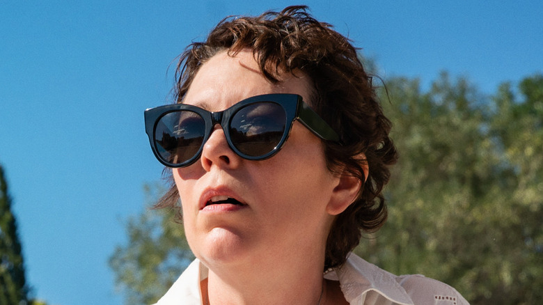 Olivia Colman as Leda in The Lost Daughter