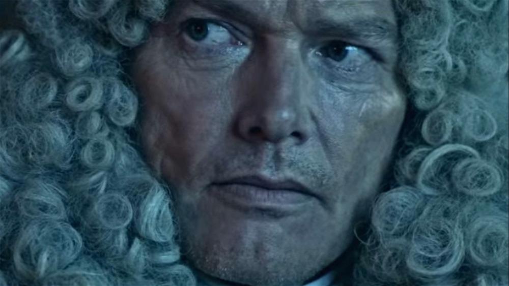 Lost Pirate Kingdom Powdered Wig