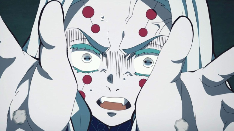 Demon Slayer Spider Sister Face