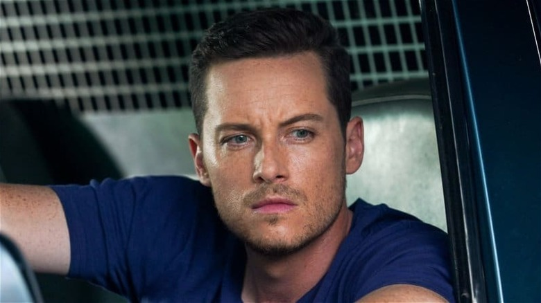 Jay Halstead looking serious