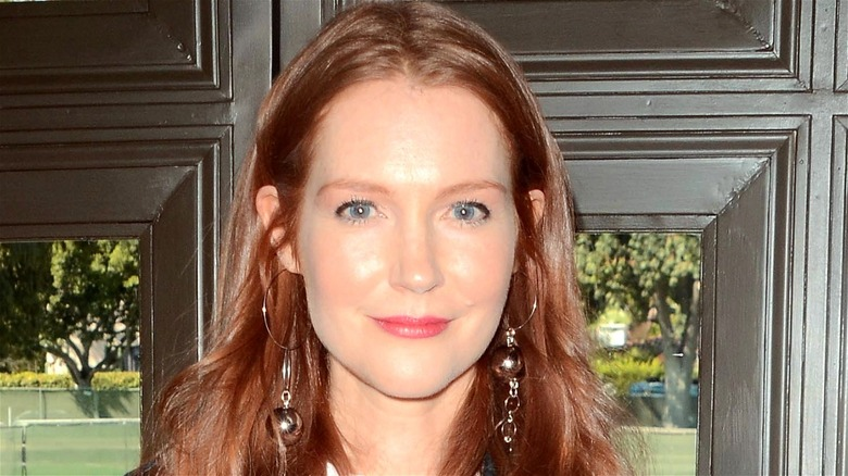 Darby Stanchfield smiling