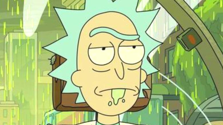 Rick Sanchez Bored Face