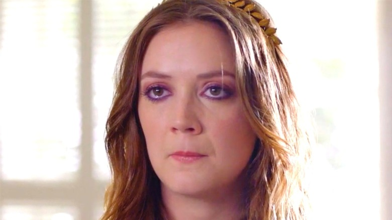 Mallory played by Billie Lourd