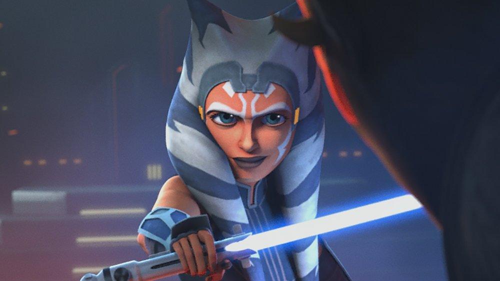 Darth Maul and Ahsoka Tano on Star Wars: The Clone Wars: The Final Season