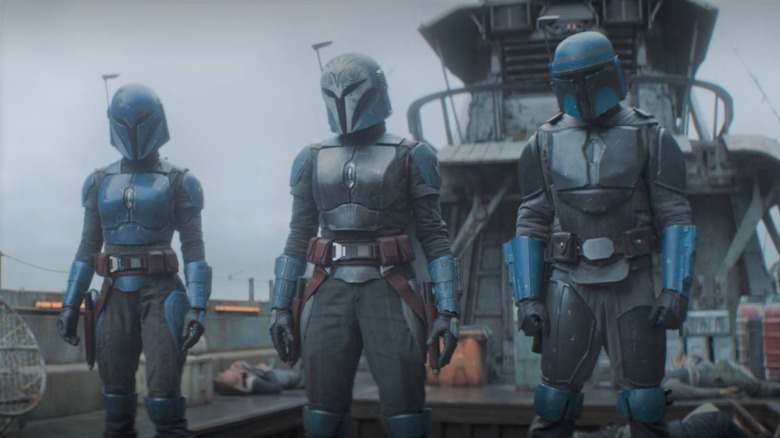 The Children of the Watch have been there all along on The Mandalorian