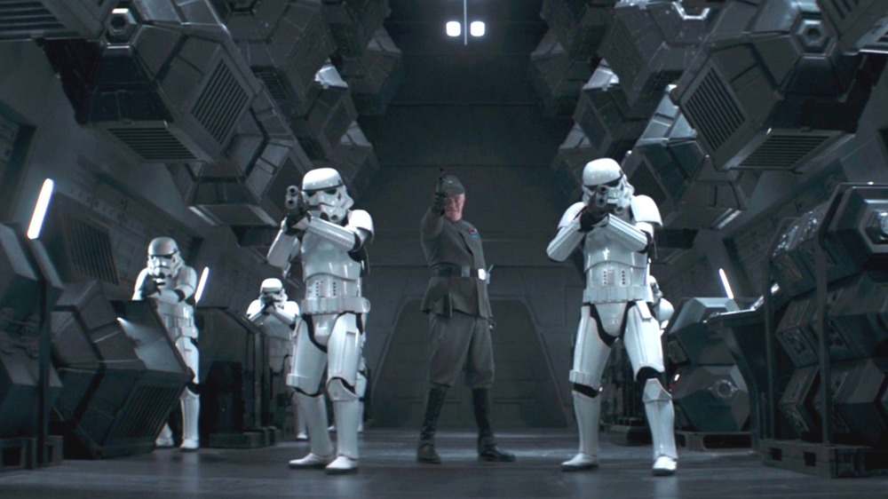 Stormtroopers on The Mandalorian