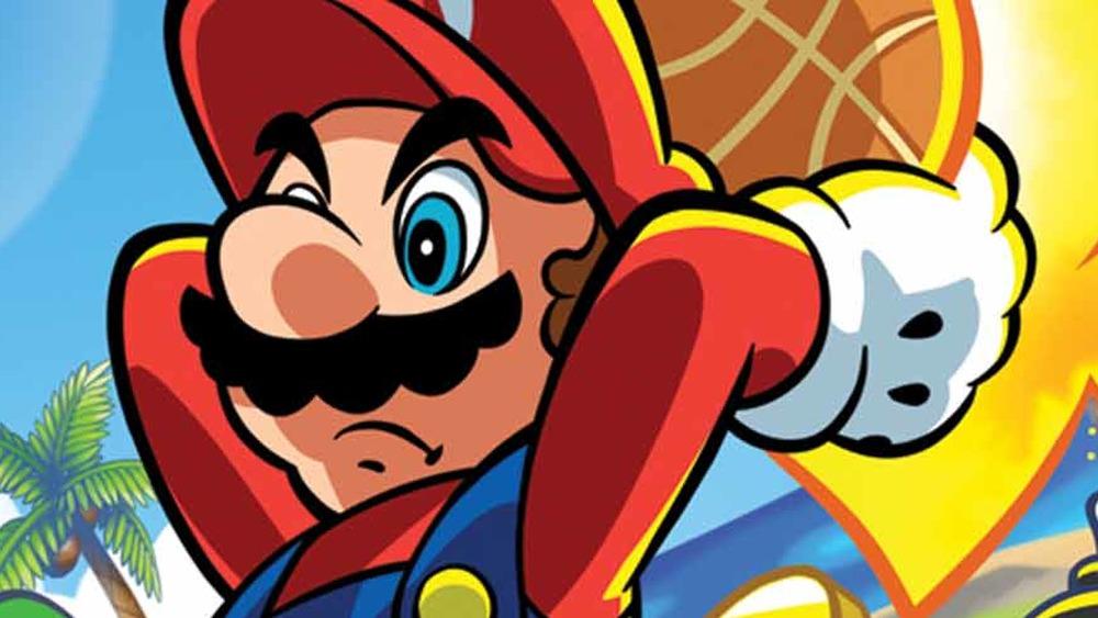 Mario dunking