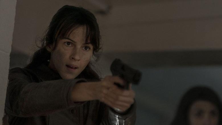 Annet Mahendru as Huck on The Walking Dead: World Beyond