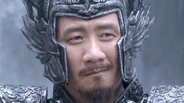 Yang Cang smiling