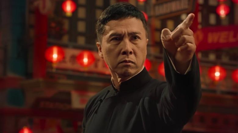 Donnie Yen as Yip Man in Ip Man 4