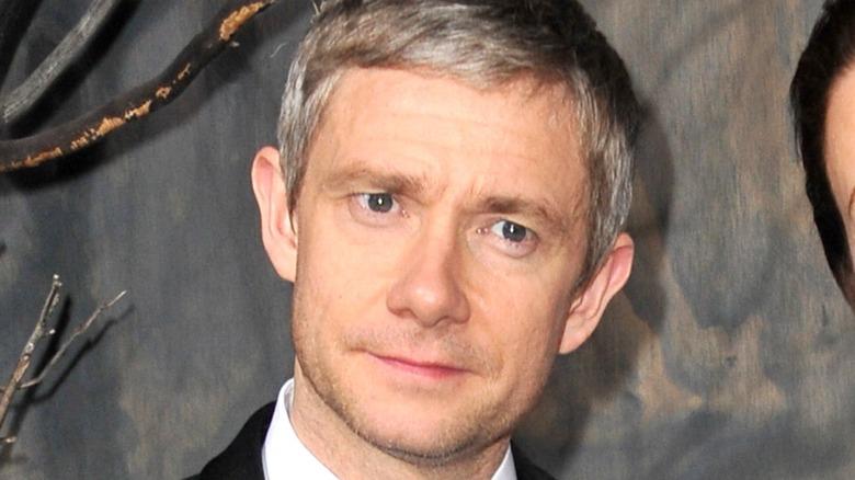 Martin Freeman close-up