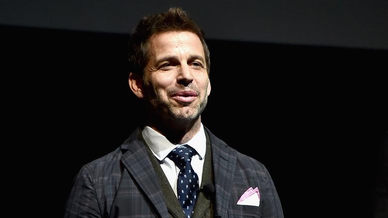 Zack Snyder speaking