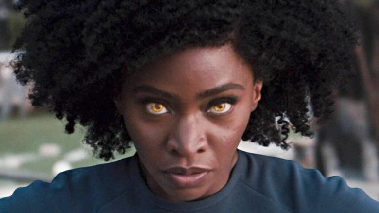 Monica Rambeau yellow eyes WandaVision