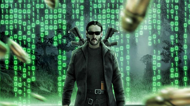 Keanu Reeves as Neo in Matrix 4 fan edit