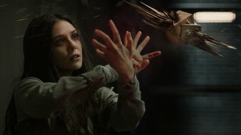 Wanda Maximoff using powers