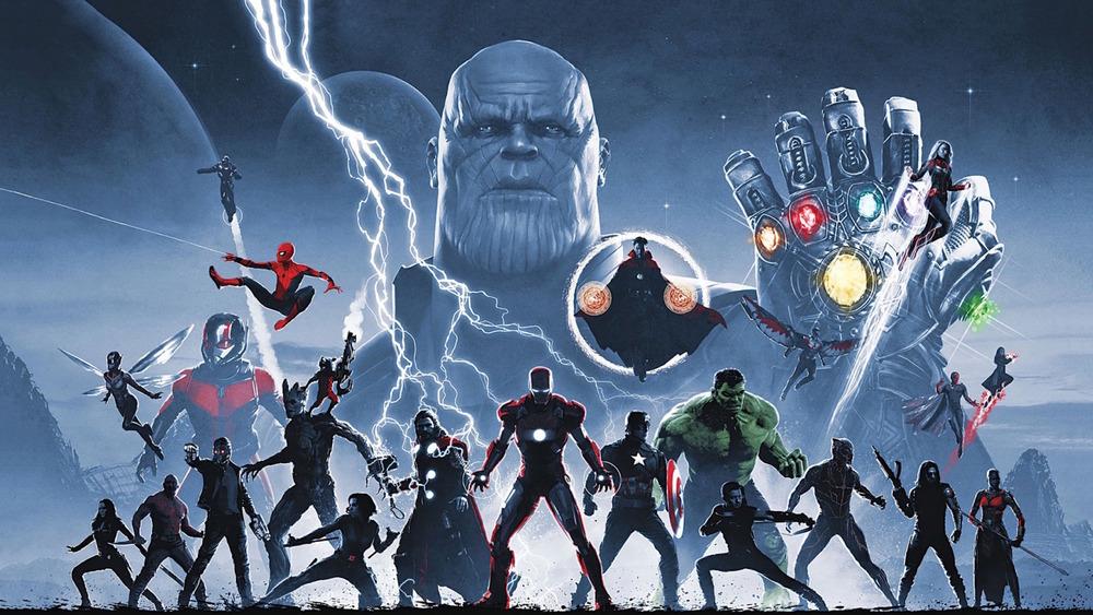 Avengers assembling in Endgame