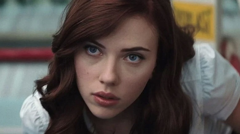 Black Widow close up