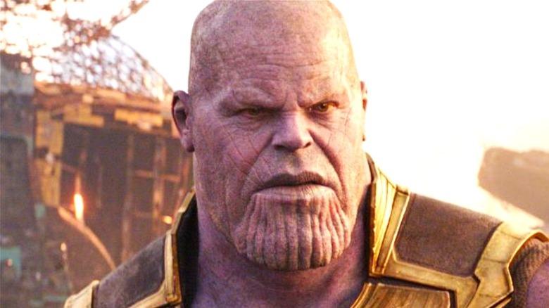 Josh Brolin Thanos wreckage