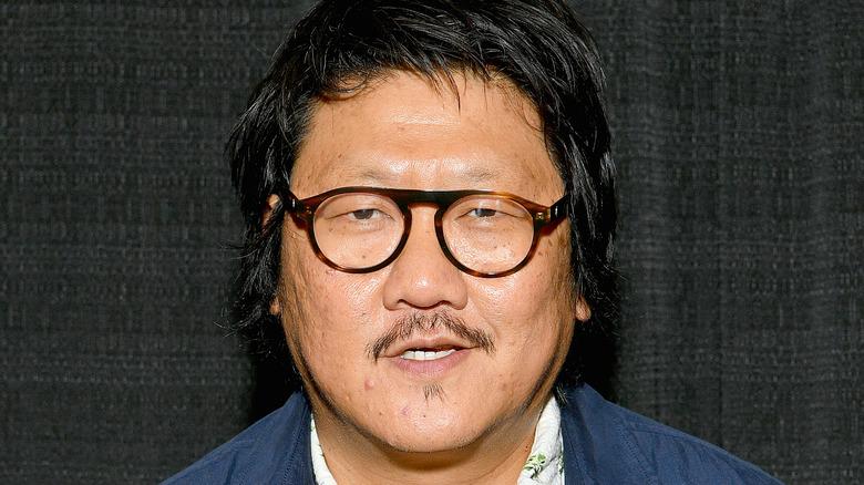 Benedict Wong close-up