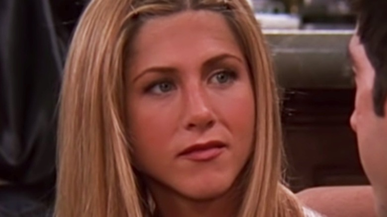 Rachel looking at Ross on Friends