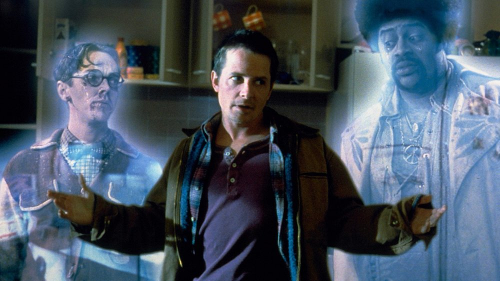 Jim Fyfe, Michael J. Fox, and Chi McBride in Peter Jackson's The Frighteners