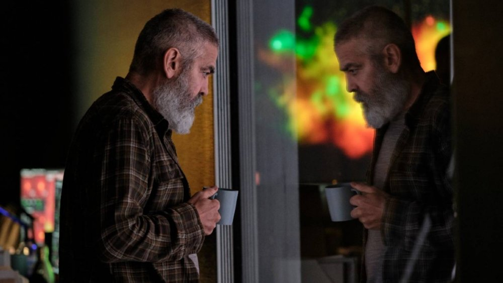George Clooney stars in the post-apocalyptic film The Midnight Sky
