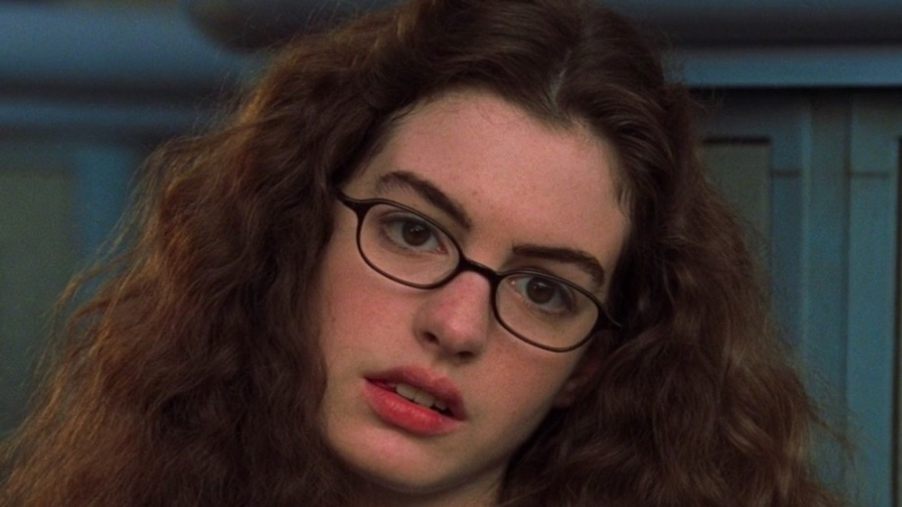 Hathaway in The Princess Diaries