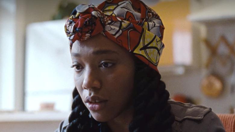 Naomi Ackie as Alicia sad