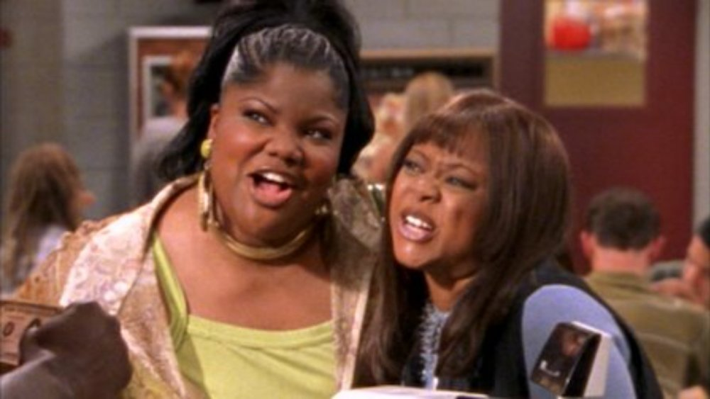 Countess Vaughn and Mo'Nique play daughter and mother on The Parkers