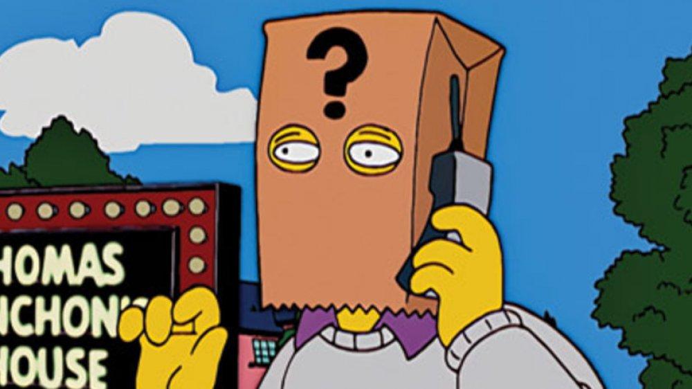 Thomas Pynchon on The Simpsons