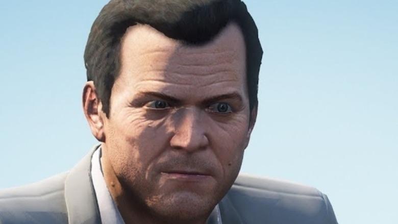GTA V Michael close-up
