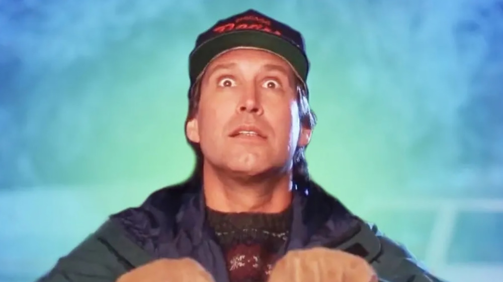 Chevy Chase  as Clark Griswold in National Lampoon's Christmas Vacation