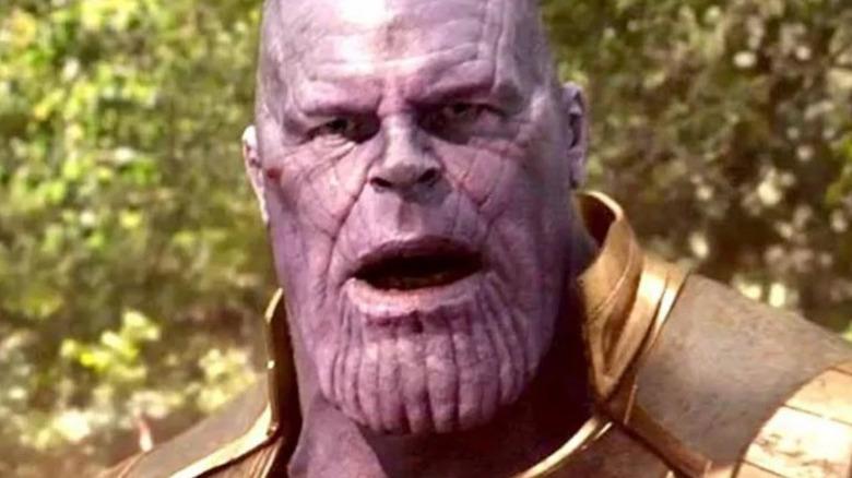 Josh Brolin Thanos surprised