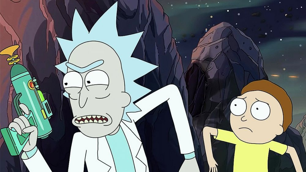 Still from Rick and Morty season 4 trailer