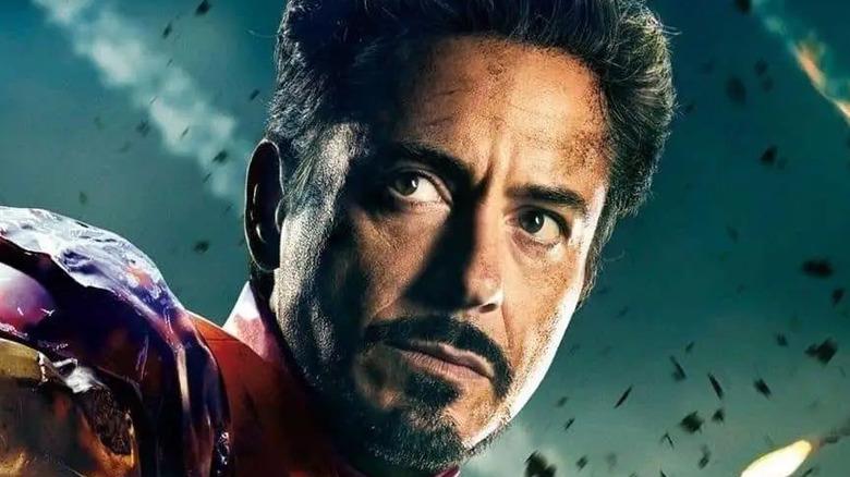 Tony Stark in battle