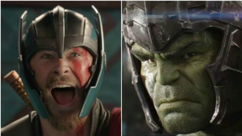 Thor and Hulk