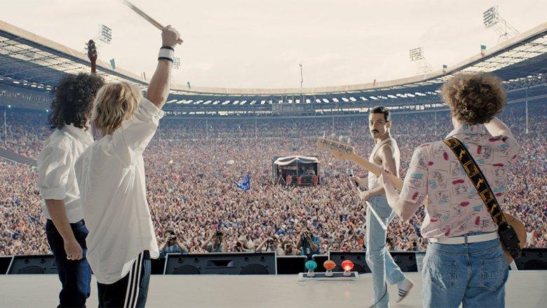 Scene from Bohemian Rhapsody