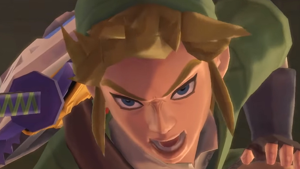 Skyward Sword Link Angry